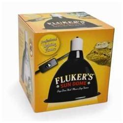 Fluker Labs SFK27003 Deep Dome Clamp Lamp