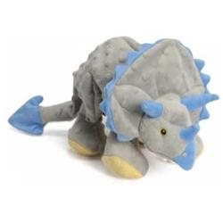 Sherpa Pet Group goDog Dinos Frills the Triceratops Dog Toy Large