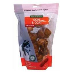 Salix Llc Salix 073011 4 in. Skin and Coat Bone Beef - 5 Pack