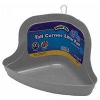 Superpet Pets International SSR62149 Tall Corner Litter Pan With Quick Lock