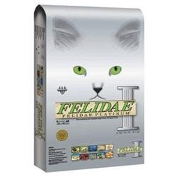 Felidae Platinum Dry Formula Indoor Formula for Cats Felidae Platinum Formula For Senior And Overweight Cats 15Lb