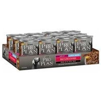Nestlé Purina Pet Care Canned NP02779 Pro Plan Large Breed Adult Dog BeefRice 1213 oz.
