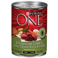 PURINA ONE® Wholesome Canned Dog Food Case Lamb