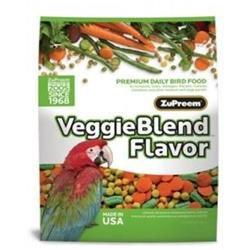 ZuPreem VeggieBlend Flavor Bird Food 17.5 lb