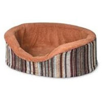 Doskocil Antimicrobial Deluxe Oval Brown 18 Inch - 27483
