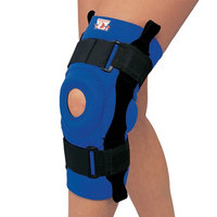 Champion Professional Neoprene Knee Stabilizer with Hinged Bars x-Large