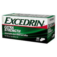 Excedrin Extra Strength Pain Reliever Caplets - 100 Count