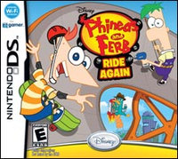 Disney Interactive Phineas and Ferb Ride Again