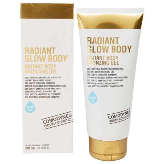 Comodynes Radiant Glow Instant Body Bronzing Gel, 6.76 fl oz