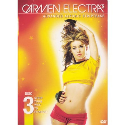 Paramount Carmen Electra's Advanced Aerobic Striptease - Fullscreen - DVD