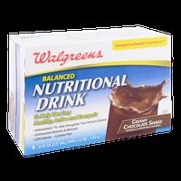 Walgreens Balanced Nutritional Drink Creamy Chocolate Shake