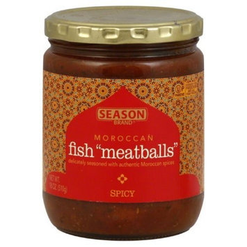 Season Moroccan Fish Meatballs, Spicy, 18-ounces (Pack of 6)