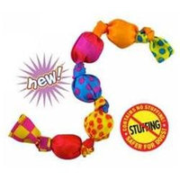 Petstages Stuffing Free Mini Squeak Chain Dog Toy