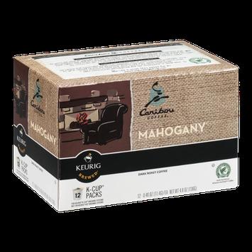 Caribou Coffee Mahogany Dark Roast Coffee K-Cup - 12 CT