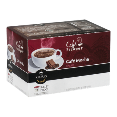Cafe Escapes Cafe Mocha K-Cup - 12 CT