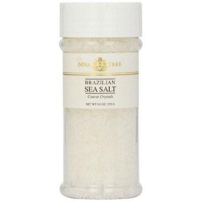 India Tree Brazilian Sea Salt Coarse Crystals, 9 oz (Pack of 4)