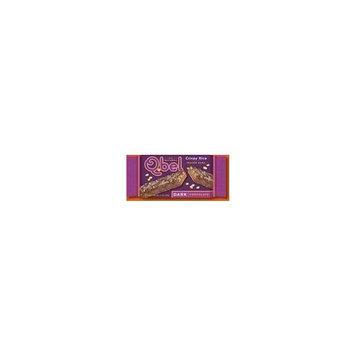 Q.bel Qbel Dark Chocolate Rice Crisp Wafer Bar 1.1 oz. (Pack of 20)