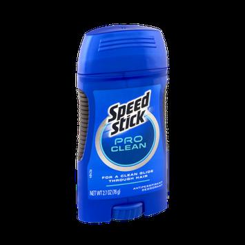 Speed Stick Antiperspirant Deodorant Pro Clean