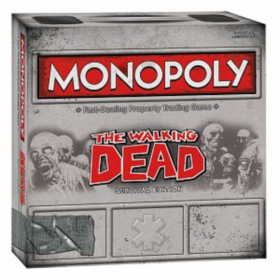 USAopoly Monopoly Walking Dead Comic Edition Ages 8+, 1 ea