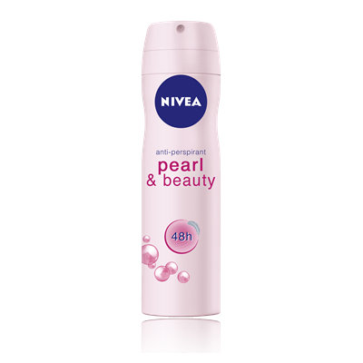 NIVEA Pearl & Beauty Aerosol Spray Deodorant