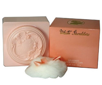 White Shoulders by Evyan 8-ounce Bath Powder for Women