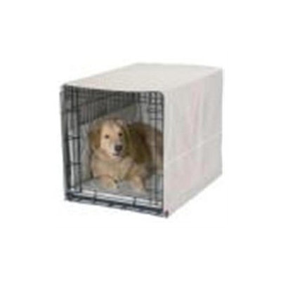 Pet Dreams Classic Cratewear Dog Crate Cover Khaki