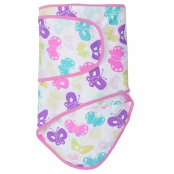 Miracle Industries Miracle Blanket - Butterflies with Pink Trim (Newborn)