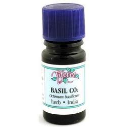 Tiferet-avraham Aromatherapy Tiferet - Blue Glass Aromatic Pro-Organic Oil, Basil CO2, 5 ml