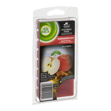 Air Wick Wax Melts Shenandoah Apple Harvest & Cinnamon Spice