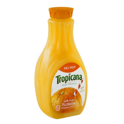 Tropicana Pure Premium Orange Juice No Pulp