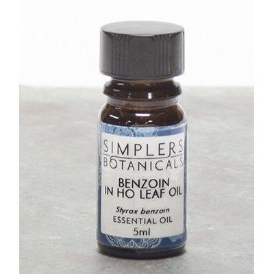 Simplers Botanicals - Essential Oil Benzoin in Ho Leaf - 5 ml.