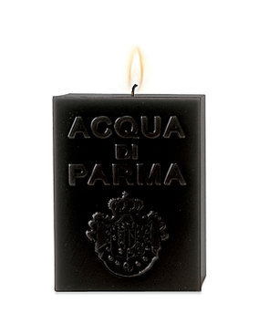 Acqua di Parma Large Cube Candle - Amber, Black, 1000g