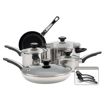 Meyer Corp. Farberware High Performance 12-Piece Stainless Steel Cookware Set