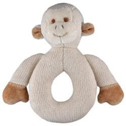 Miyim Organic Plush MiYim Organic Teether - Knitted Monkey - 1 ct.
