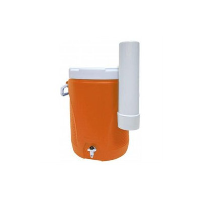 Rubbermaid Water Cooler, 5 Gallon Capacity, Orange/White