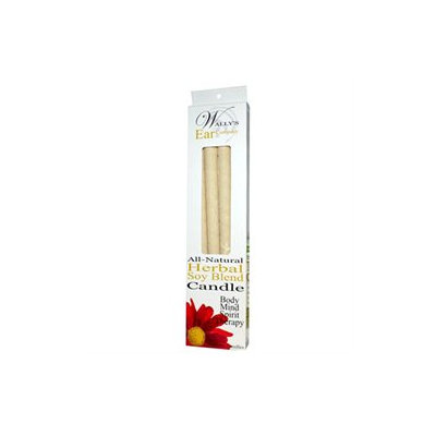 Wallys Natural Products 83695 Paraffin Herbal Ear Candle