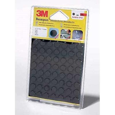 3M SJ5012 Self Adh Bumper, 56 Bumpons per Pack, PK18