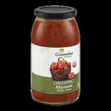 Greenview Kitchen Organic Pasta Sauce Marinara
