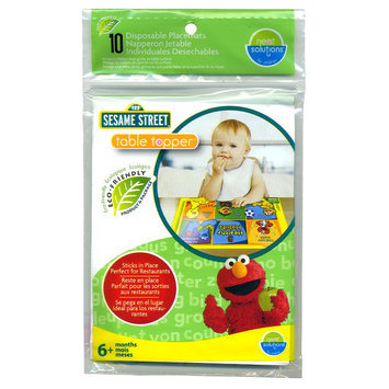 Kohls Sesame Street 10-Pk. Table Topper Disposable Placemats