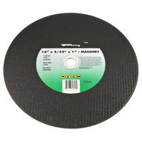 Forney 72358 Chop Saw Blade Type 1 High Speed Masonry with 1-Inch Arbor C24R-BF 14-Inch-by-5/32-Inch