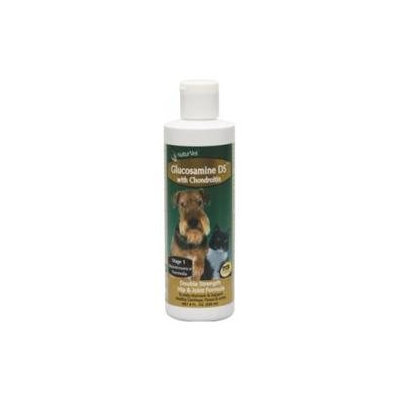 NaturVet Glucosamine-DS Liquid Joint Formula with Chondroitin 8oz