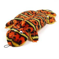Kyjen Invincibles Orange & Yellow 2 Squeak Gecko