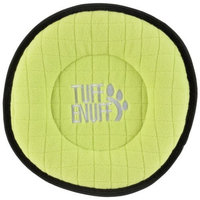 Tuff Enuff Classics Disc Toy for Dogs, 9-Inch, Green