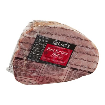 Cook's Butt Portion Ham Hickory Smoked
