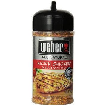 Weber Grill Seasoning Kickn Chicken, 5-Ounce (Pack of 4)