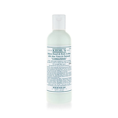 Kiehl'S Since 1851 Coriander Deluxe Hand and Body Lotion with Aloe Vera and Oatmeal 8.4oz
