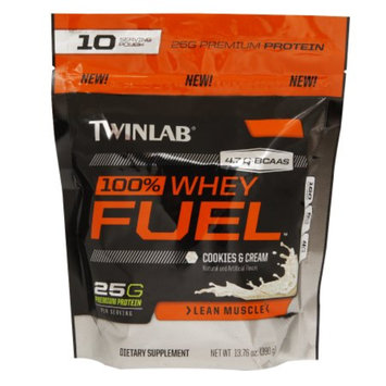 Twinlab 100% Whey Fuel Protein Cookies & Cream