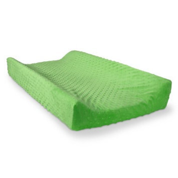 Solid Changing Pad Cover - Soft Lime Dot by Circo