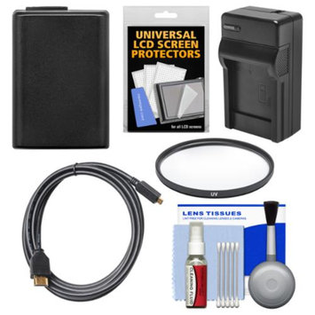 Vivitar Essentials Bundle for Sony Cyber-Shot DSC-RX10 Digital Camera with NP-FW50 Battery & Charger + HDMI Cable + UV Filter + Accessory Kit