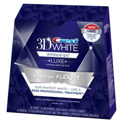 Crest 3D White Luxe Supreme FlexFit Whitestrips - 14 count